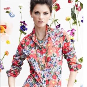 Anthropologie floral button down by HD in Paris